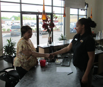 Opening Day Sewells Point Road Location S First Customer