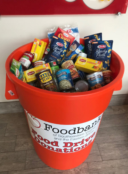 Successful Holiday Food Drive Benefiting Area Families