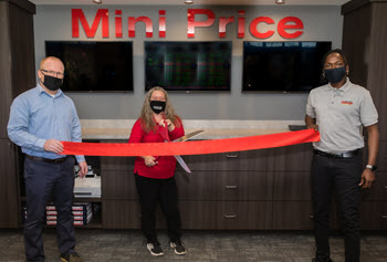 mini price storage colley ave ribbon cutting